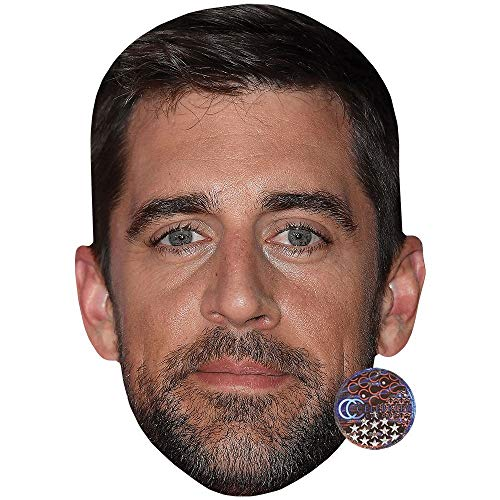 Aaron Rodgers (Beard) Celebrity Mask, Card Face and Fancy Dress ()