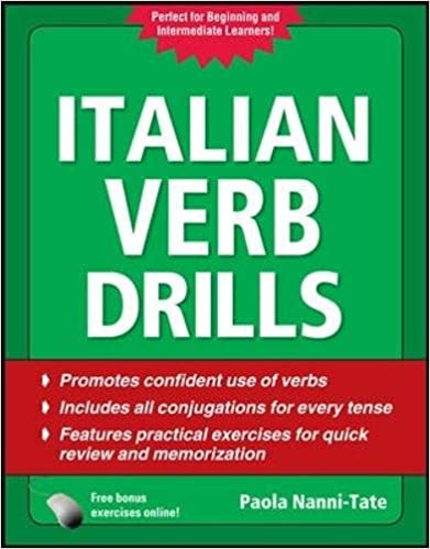 Amazon Italian Verb Drills Third Edition Drills Series