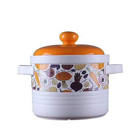 LKOBN Olla de cerámica Japonesa y Coreana Alta Temperatura Cazuela ...