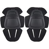 Tihebeyan 1 par de Rodilleras Protectoras para la Actividad al Aire Libre, prevención de colisión Rodillera Rodillera Caza Combate Rodilleras Protector Protector