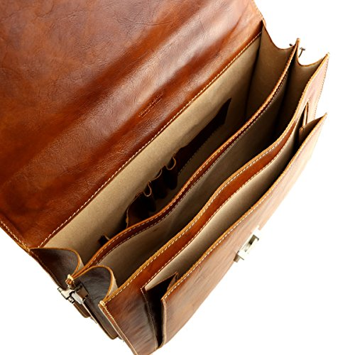Tuscany Di Top Moro Dark testa Bag Mega Brown handle Men's d8dqS