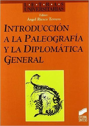 PALEOGRAFIA Y DIPLOMATICA EBOOK DOWNLOAD