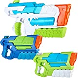 JOYIN Spritz 2 Aqua Phaser and 1 Hydro Enforcer High Capacity Water Gun Super Water Soaker Blaster Squirt Toy Swimming Pool Beach Sand Water Fighting Toy