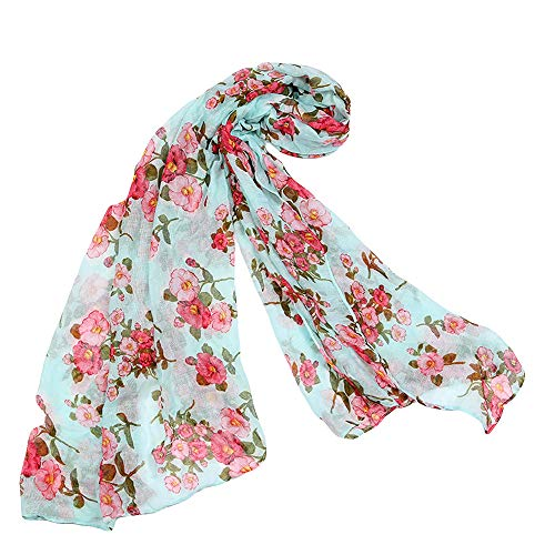 Toaimy Scarves Fashion Ladies Printed Soft Linen Shawl for sale  Delivered anywhere in USA