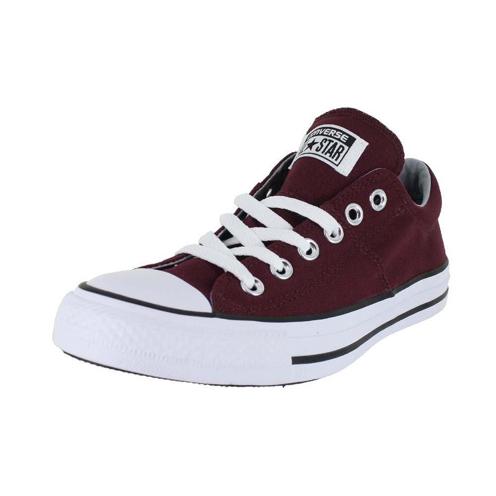 Converse Women's Chuck Taylor All Star Madison Low Top Burgundy White, US Women's 7