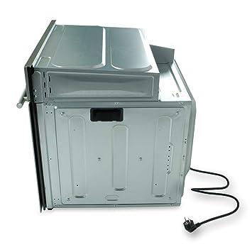 Horno eléctrico integrado de 60cm EB8015ED + vitrocerámica de 59cm KFS59RL (aire caliente, sistema parrilla/asador, cajones telescópicos, ...