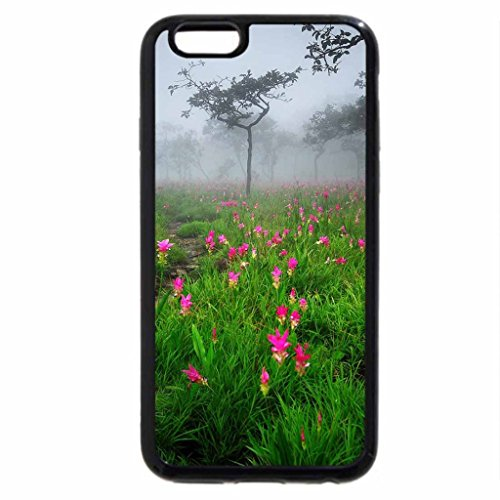 iPhone 6S / iPhone 6 Case (Black) Siam_Tulip