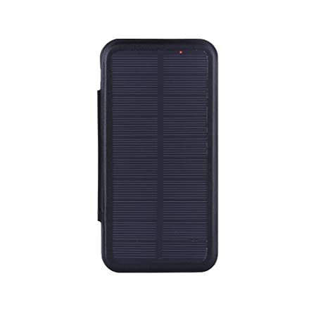 huge discount 6ad79 fe72d upsztec 4.7 Inch Solar Battery Clip Charger Case 3000 mAh Power Bank for  iPhone 6 6s 7 7S (Black)