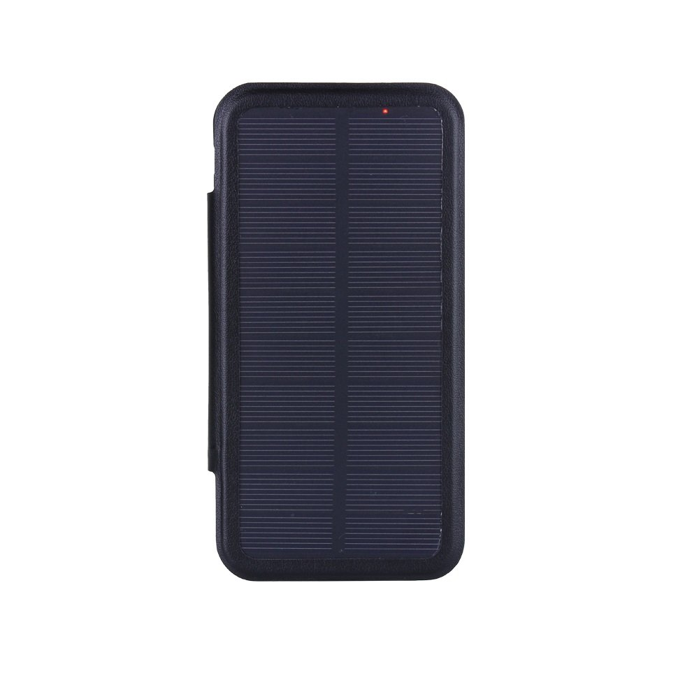 UPsztec 4.7 Inch Solar Battery Clip Charger Case 3000 mAh Power bank For Iphone 6 6s 7 7S (Black)