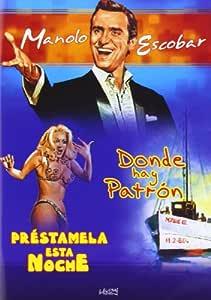Prestamela esta noche/Donde hay patron [DVD]