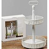 Amazon.com: Hortense B. Hewitt Rustic Log Cake Stand