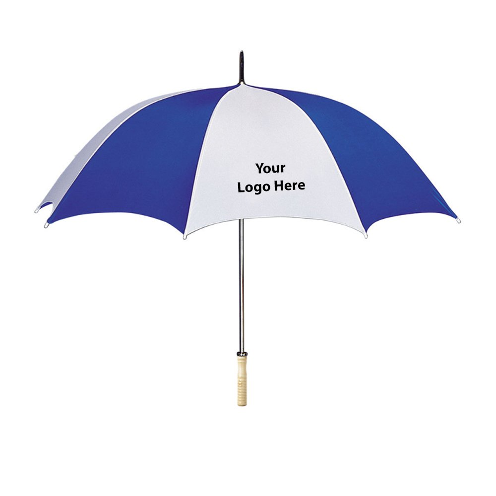 48'' Arc Umbrella - 25 Quantity - $8.69 Each - PROMOTIONAL PRODUCT / BULK / BRANDED with YOUR LOGO / CUSTOMIZED
