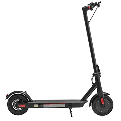 Longtime Electric Lightweight Foldable Scooter for Everyday Outdoor Commuting and Fun for Kids and Adults - UL Safety Certified (Black) : Sports & Outdoors
