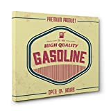 GAS High Quality Gasoline CANVAS Wall Art Home Décor