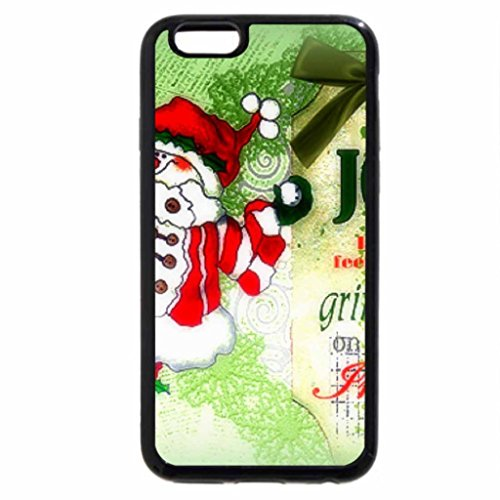 iPhone 6S Case, iPhone 6 Case (Black & White) - Joy is Grinning Inside