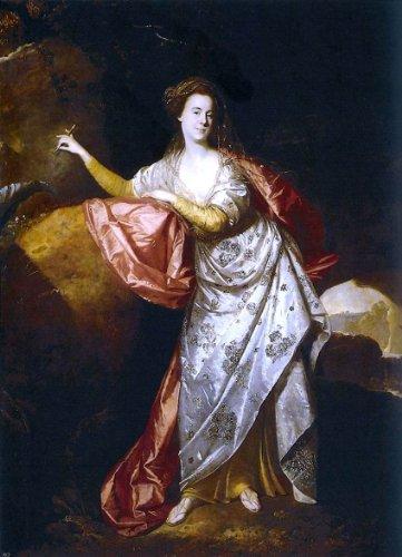 Johann Zoffany Portrait of Ann Brown in the Role of Miranda - 18.1