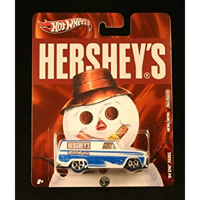 '64 GMC PANEL HERSHEY'S MINIATURES Hershey's Hot Wheels 2011 Nostalgia Series 1:64 Scale Die-Cast Vehicle: Toys & Games