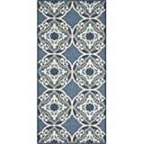 Kitchen Rugs Dash and Albert Kitchen Rug Medallion with Durable Print (1'8