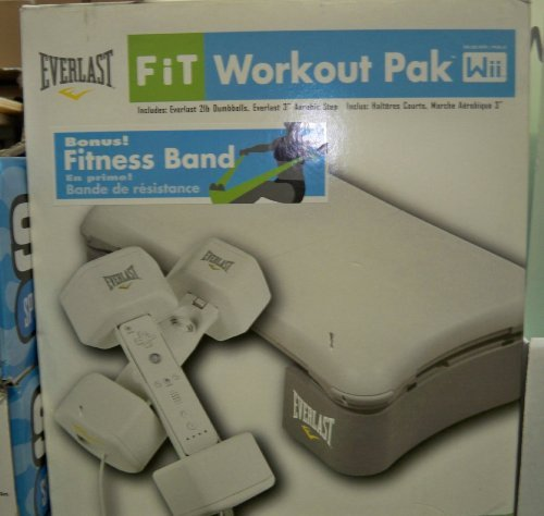 (Company X Everlast Fit Workout Pack for Nintendo Wii)