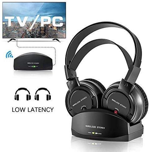 Wireless Headphones with Charging Dock