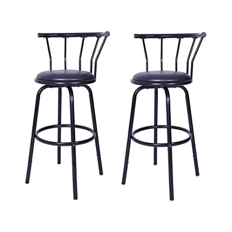 Marvelous Amazon Com Metal Bar Stool Sin Mon Vintage Wrought Iron Onthecornerstone Fun Painted Chair Ideas Images Onthecornerstoneorg