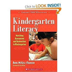 Kindergarten Literacy Anne McGill-Franzen
