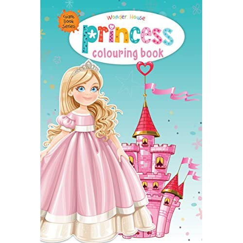 Princess Colouring Book Giant Book Series