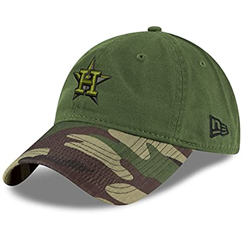 Houston Astros New Era 2017 Memorial Day 9TWENTY Adjustable Hat - Green/Camo