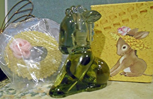 Figural Glass (Avon Charisma Cologne Fragrance 1oz