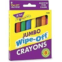 TREND enterprises, Inc. Crayones Jumbo Surtidos Surtidos de 8 paquetes
