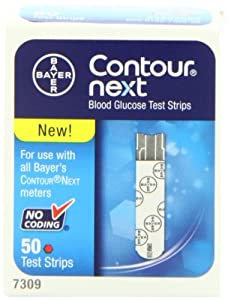 Bayer Contour Next Blood Glucose Test Strips, 200 strips