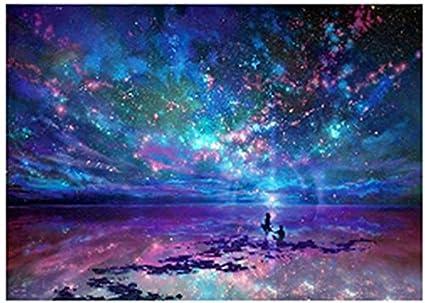 amazon com kotwdq diy full drill 5d diamond painting galaxy by