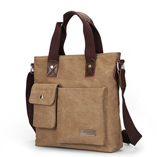 Bolsa de hombre de negocios/bolso de bandolera/Lona casual Messenger bag/Bolsa de hombres/Bolsas colgados/ maletín vertical-B B