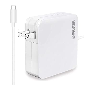 Amazon.com: QINUKER 87W USB-C Cargador Adaptador de ...