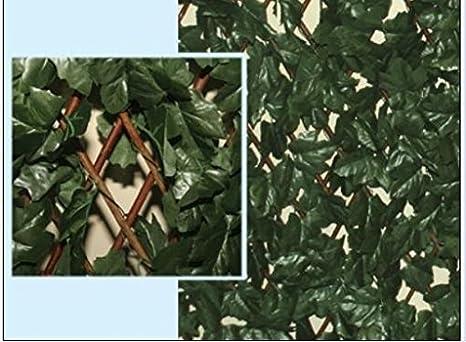 Steccato Estensibile Giardino : Siepe artificiale edera estensibile amazon casa e cucina