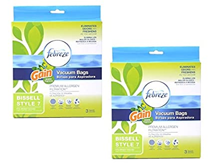 Amazon.com: Febreze with Gain ScentTM Style 7 Vacuum Bags ...