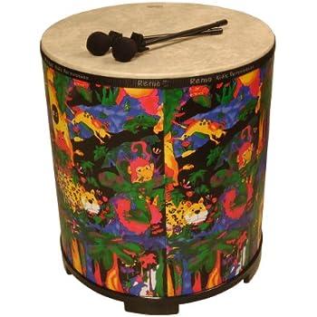 Amazon Com Remo Kid S Gathering Drum Large Toys Amp Games
