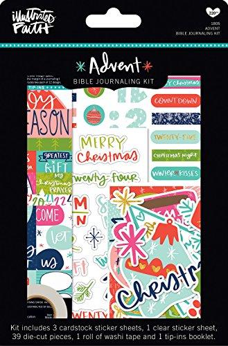 Bella Blvd Iad1805 Illustrated Faith Advent Bible Journaling Kit-