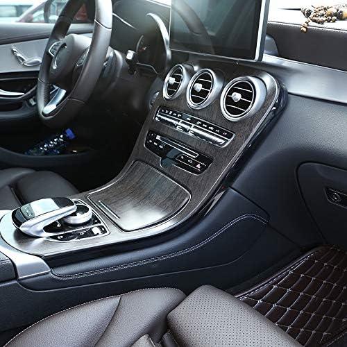 YanYun Garniture de Couverture de D/éCoration de Panneau de Console Centrale ABS de Voiture pour Mercedes Classe C W205 GLC X253