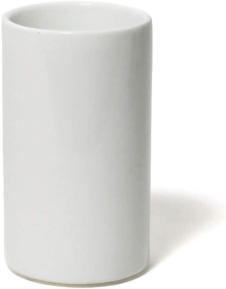Jonathan Adler Lacquer Bath Tumbler, One Size, White
