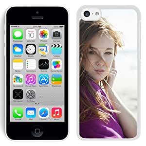 New Custom Designed Cover Case For iPhone 5C With Leanna Decker Girl Mobile Wallpaper (2).jpg