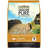 CANIDAE Grain Free PURE Foundations Puppy Dry Formula with Fresh Chicken, 4 lbs