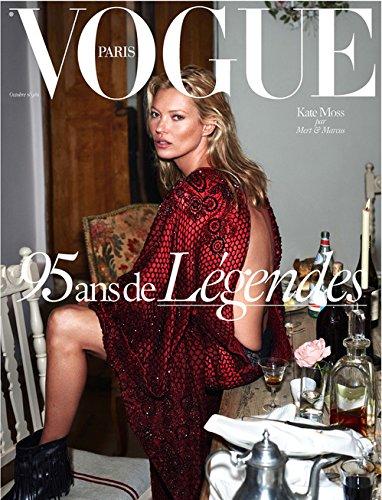 Vogue Paris Magazine (October, 2015) Kate Moss Cover 95th Anniversary - Moss Vogue Kate