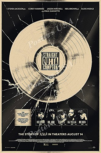 Posters USA - Straight Outta Compton Movie Poster GLOSSY FINISH - MOV602 (24' x 36' (61cm x 91.5cm))