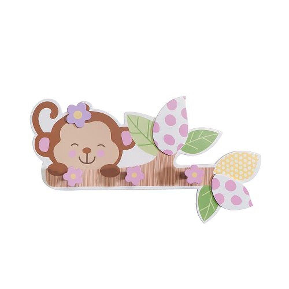 Amazon Com Babies Quot R Quot Us Monkey Giraffe Baby Girl Nursery