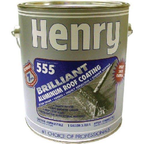 HENRY HE555042 Gal Fiber Aluminum Roof Coat