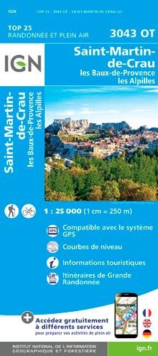 St-Martin-de-Crau / Les Baux-de-Provence / Les Alpilles 2017: IGN.3043OT ebook
