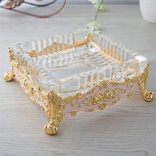 Price comparison product image Pocket Ash Tray - Metal Crafts Ashtray European Zinc Alloy Large Els Y Or Home - Donald Wood Coin Trays Cable Cover Elephant Gold Bundle Souvenir Trump Decor Egyptian Small Pocket Sata