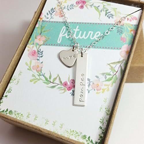 Amazon Com Bridal Shower Gift Wedding Gift Personalized Bridal