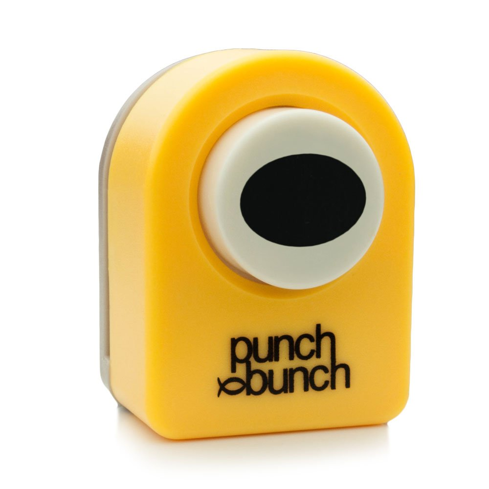 Small Punch - Oval 14mm, 1/2 inch